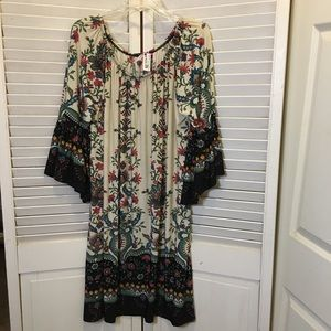 Dresses & Skirts - casual dress 3x NWT floral paisley plus size